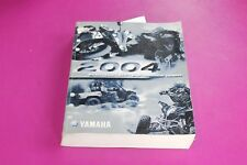 2004 Yamaha Motorcycle Atv SxS Technical Update Manual. Lit-17500-00-04.