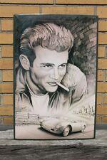XXL Blechschild James Dean - Portrait 60x40 cm Hollywood