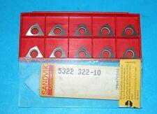 5322 322-10 SANDVIK CARBIDE INSERT SHIM