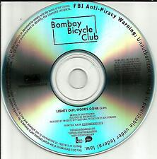 BOMBAY BICYCLE CLUB Lights Out Words Gone TST PRESS PROMO DJ CD Single USA 2012