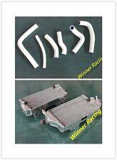 hi-perf aluminum alloy radiator and hose HONDA CR250/ CR 250 2000 2001 WHITE