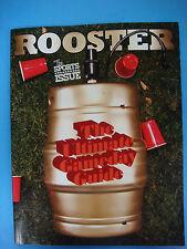 ROOSTER Magazine Nov 2012: Neon Booze, Sports Bars, D-Stylz, NFL, NBA,Bartenders