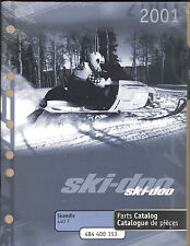 2001 Ski-Doo Skandic 440 F Snowmobile Parts Manual