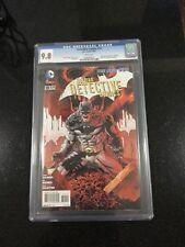 DETECTIVE COMICS #10 / The new 52! / CGC Universal 9.8 / August 2012 / DC COMICS