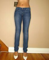 $189 Seven 7 For All Mankind Roxanne Classic Skinny Stretch Jeans Medium 24 25