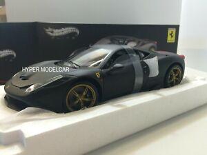 ELITE 1/18 Ferrari 458 Italia Speciale 2013 MATT BLACK Art. BLY33