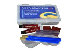 PVC & PU REPARATUR SET XXL   Flickzeug für Schlauchboot Zelt Pool fishingglue