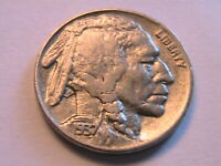 1937-D Buffalo Nickel Ch AU About Unc Lustrous Original Indian Head 5C USA Coin