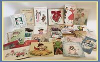 Vintage Various Birthday Greeting Cards Circa 1960's - Lot Of 31 Cards Used
