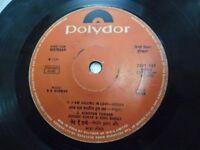 DEEWAR RD R D BURMAN 2221 127  1975 RARE BOLLYWOOD india OST Hindi EP RECORD G+