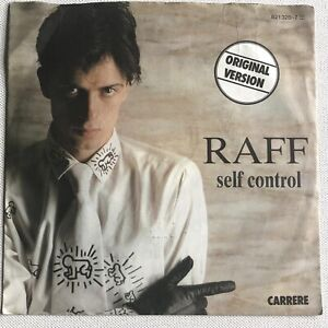 "RAF - SELF CONTROL  7"" RECORD"