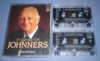 BRIAN JOHNSTON AN EVENING WITH JOHNNERS Double cassette audio book A82