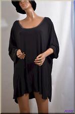 haut tee shirt noir  KIABI  grande  taille 58/60  ref 0917102