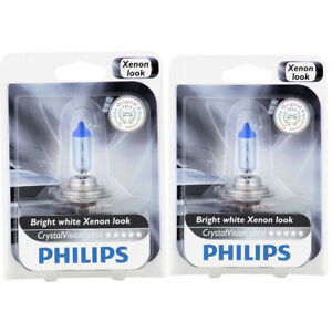 2 pc Philips Low Beam Headlight Bulbs for Porsche 911 Boxster Cayenne Cayman jf