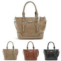 Women Leather Handbag Shoulder Cross Body Bag Tote Messenger Hobo Satchel Purse
