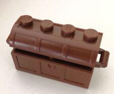 LEGO 2X SCRIGNO CASSA TESORO PIRATI COMPLETO 4738 + 4739 MARRONE LOTTO KG SET