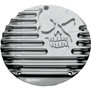 Covingtons Chrome Machine Head Derby Cover for 1999-2017 Harley Big Twin Models
