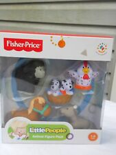 Fisher Price Little People Animal Figure Pack New 1-5 Yrs 5 Pcs