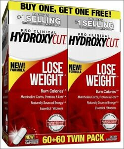 Pro Clinical Hydroxycut 2 pk 60 ct Weight Loss Supplement Lose Weight