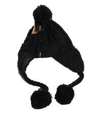 Barts Gorro pompompom Sombrero del invierno Gorro de lana oscuro heather