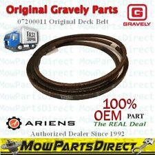 OEM Original Gravely Ariens Genuine V-BELT- HB-WRAPPED Part # 07200011