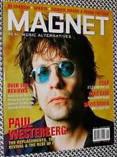 MAGNET Magazine, PAUL WESTERBERG, BOWIE, Neko Case, Pulp, DJ Shadow