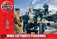 WWII LUFTWAFFE PERSONNEL (46 Figures)  AIRFIX 1/72 PLASTIC KIT