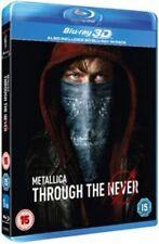 Metallica Through The Never 3d Blu-ray BLURAY Region B