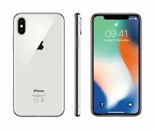 "Apple MQAD2B/A iPhone X 64GB 4G Sim Free 5.8"" Smartphone (Silver) B+"