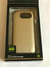 Mophie juice pack for Samsung Galaxy S6 Edge - Gold NIB