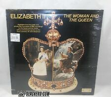 QUEEN ELIZABETH II Spoken Word THE WOMAN AND Sealed LP!! THE CROWN Royal Wedding