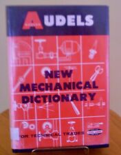 Audels Mechanical Dictionary Technical Trades Dictionary Adult Education Book