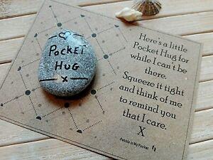 Missing You So Much Pocket Hug  keepsake Isolation Miss You Quarantine Gift Card