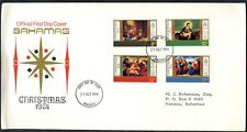Bahamas 1974 Christmas FDC First Day Cover #C48778