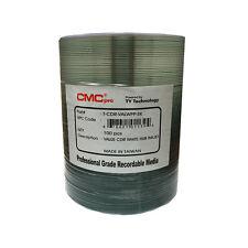 100 CMC Pro (TY Technology) 52X White Inkjet Printable Value CD-R Disc