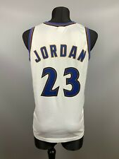 WASHINGTON WIZARDS MICHAEL JORDAN NBA BASKETBALL SHIRT SWINGMAN CHAMPION SIZE M