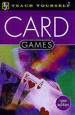 TEACH YOURSELF: CARD GAMES., Parlet, David., Used; Very Good Book
