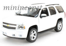 WELLY 22509W-WH 2008 08 CHEVROLET TAHOE SUV 1/24 DIECAST MODEL CAR WHITE