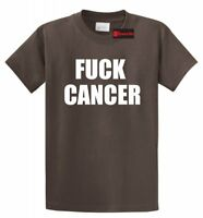 F--- Cancer T-Shirt Cancer Awareness Unisex Tee Shirt I Beat Cancer Gift Tee