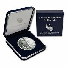 1989 American Silver Eagle BU in U.S. Mint Gift - Presentation Box / Top Rated