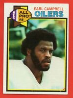 1979 Topps #390 Earl Campbell EX-EXMINT+ Houston Oilers HOF ROOKIE RC FREE S/H
