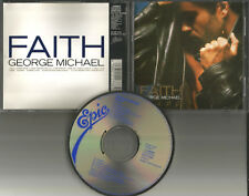 Wham GEORGE MICHAEL Faith ULTRA RARE JAPAN Pressing CD USA seller 1987 258p5180