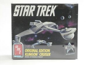AMT Ertl Star Trek Original Edition Klingon Cruiser 25th Anniversary Model kit