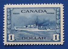 CANADA (#262) 1942 Destroyer MNH single