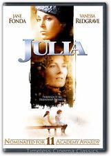 Julia DVD New Jane Fonda Vanessa Redgrave Meryl Streep