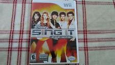 Disney Sing It: Pop Hits (Nintendo Wii, 2009) Game only, no microphone.