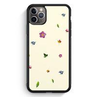 Blumen Origami Muster iPhone 11 Pro Max Silikon Hülle Motiv Design Mädchen Fr...
