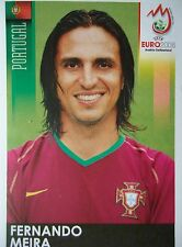 Panini 107 Fernando Meira Portugal UEFA Euro 2008