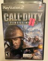 Call of Duty Finest Hour PS2 PlayStation 2 Game