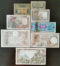 Anciens Billets Français– Old French Note Bank